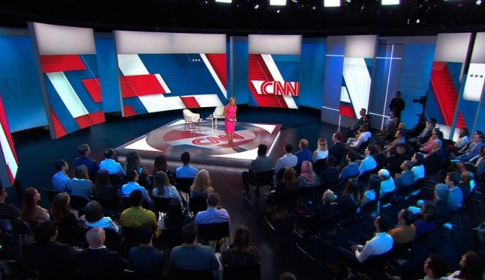 Image from CNN climate town hall