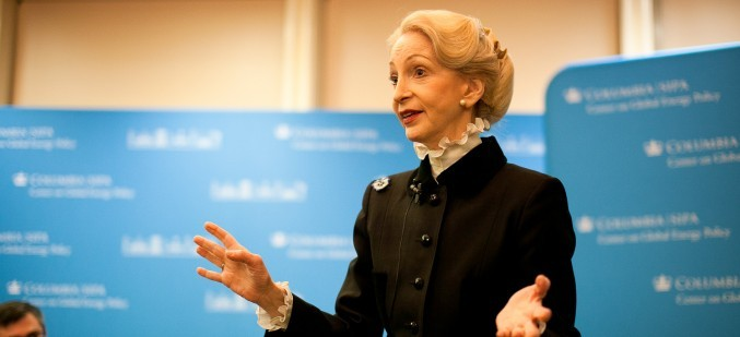 Lady Barbara Judge CBE speaking at CGEP on nuclear energy policy